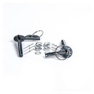 Bonnet Pins Aluminium